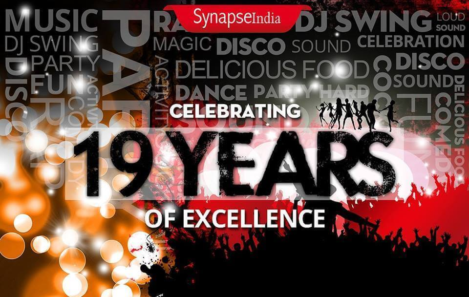SynapseIndia marks 19th anniversary with celebration of Foundation Day