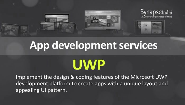 App Development Services from SynapseIndia - Diverse Apps With UWP