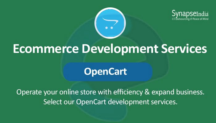 E-commerce Development Services from SynapseIndia - SEO-Friendly OpenCart Stores