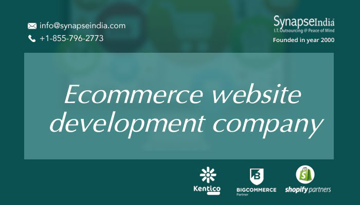 ECommerce website development companies – SynapseIndia stands out with quality