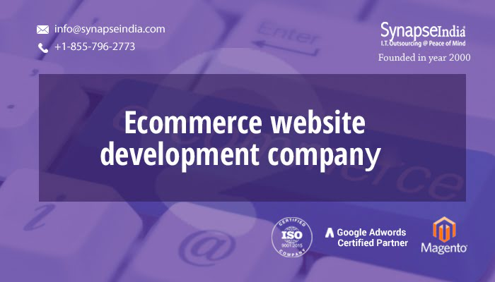 ECommerce website development companies – SynapseIndia delivers the best solutions