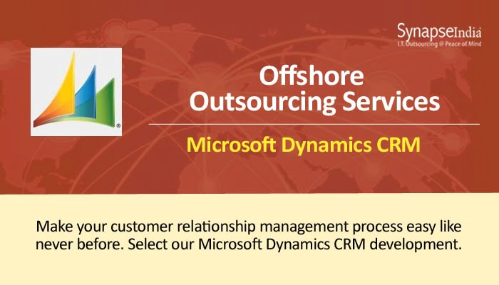 Offshore outsourcing services – SynapseIndia for Microsoft Dynamics CRM & more