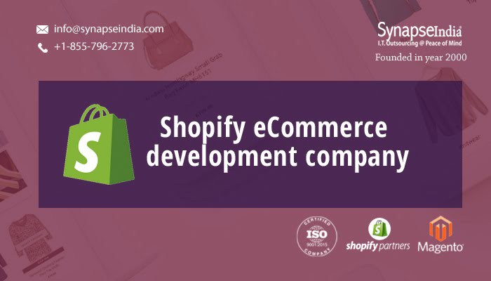 Shopify eCommerce Development Company For Custom Online Stores