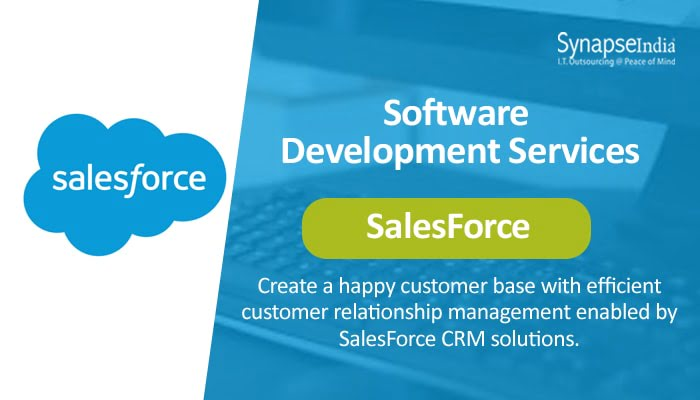 Software Development Services from SynapseIndia - SalesForce for CRM Solutions