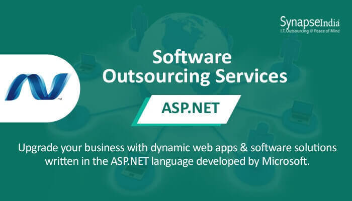 Software outsourcing services for efficiency - ASP.NET development from SynapseIndia
