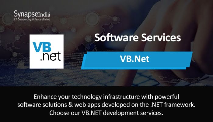 Software Services from SynapseIndia – Strengthen Operation With VB.NET