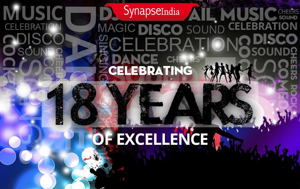 SynapseIndia turns 18 years old! Kudos!