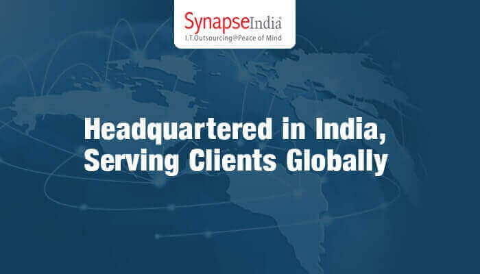 With Headquarters in India, SynapseIndia Serves Clients Globally