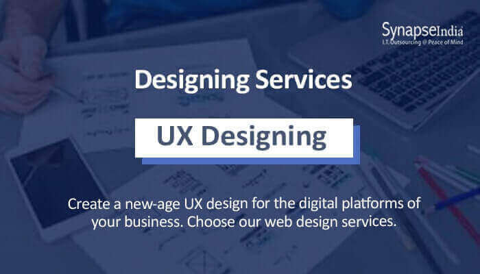 Designing services for becoming visible on the web – UX design by SynapseIndia
