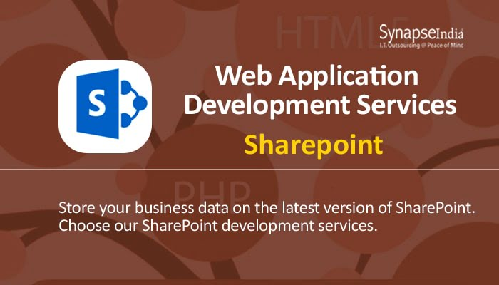 Web Application Development Services from SynapseIndia - SharePoint Intranet