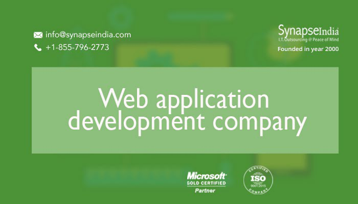 Web application development companies - SynapseIndia is the record-setter