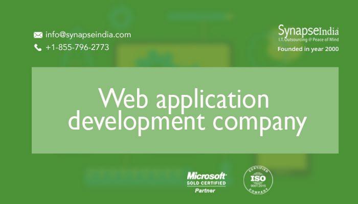 Web application development companies - SynapseIndia is the record