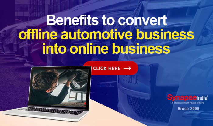 Benefits to convert offline automotive business into online business
