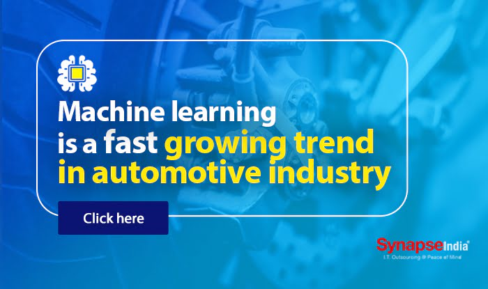 Machine learning is a fast growing trend in automotive industry