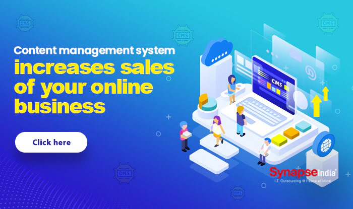 Content management system increases sales of your online business
