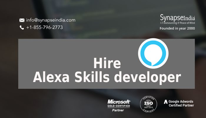 Hire Alexa Skills developer for AI-enabled business operations