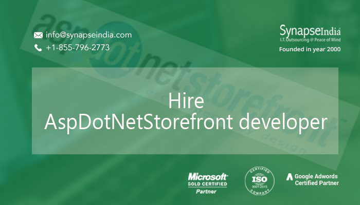 Hire AspDotNetStorefront developer for higher conversion
