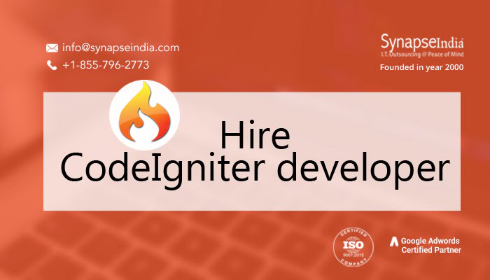 Hire CodeIgniter developer - Achieve success with SynapseIndia