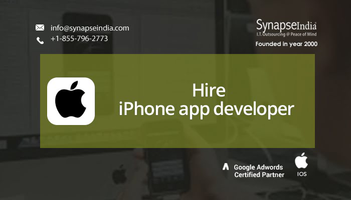 Hire iPhone app developer to build exceptional iOS apps