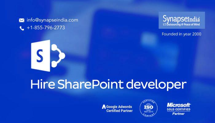 Hire SharePoint developer - Microsoft certified, best talent