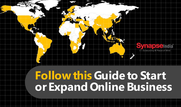 Follow this Guide to Start or Expand Online Business By SynapseIndia