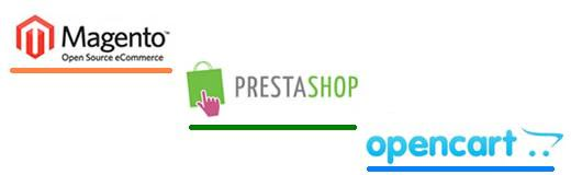 Comparison of eCommerce Platforms : Prestashop vs Magento vs OpenCart