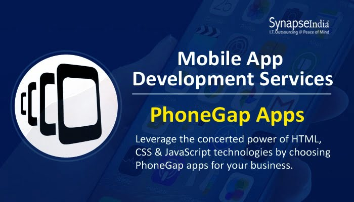 Mobile App development services from SynapseIndia - PhoneGap apps & much more!