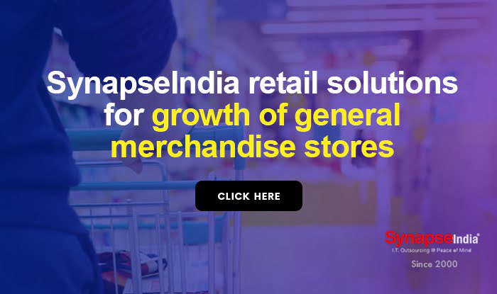 SynapseIndia retail solutions for growth of general merchandise stores