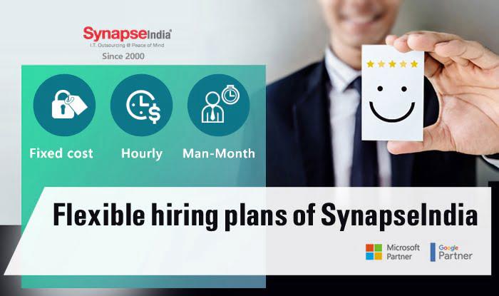 Flexible Hiring Plans of SynapseIndia