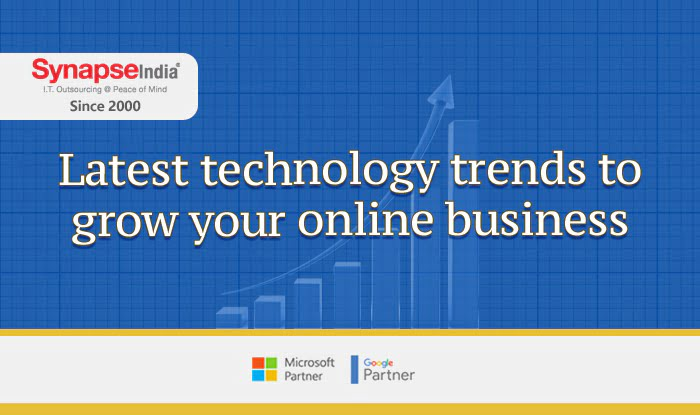 SynapseIndia latest technology trends to grow your online business