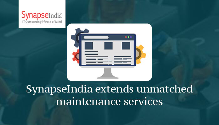 SynapseIndia extends unmatched maintenance services