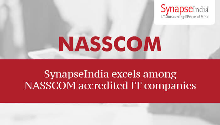 SynapseIndia excels among NASSCOM accredited IT companies