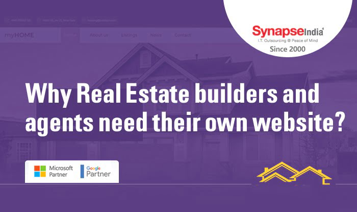 Why real estate builders and agents need their own website?