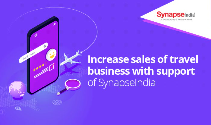 Increase Sales of Travel Business with Support of SynapseIndia