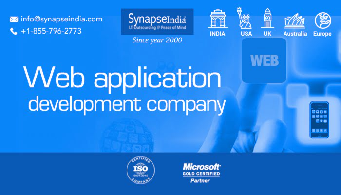 Web application development company - Custom applications