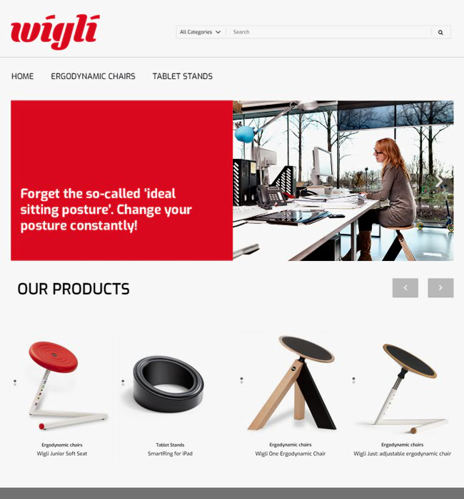 Wordpress Website Development for an eCommerce Platform Selling Chairs