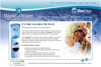 Ajax Website for Media 'World of Water' – Online Aquarium Guide & Store