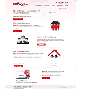 CakePHP Website for Membership Based Services Provider 'redquo'