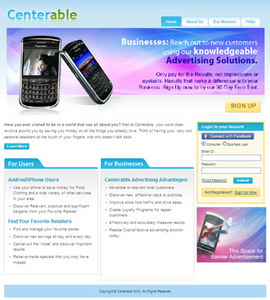 Android Mobile App for Consumer 'Centerable' – Store Locator App