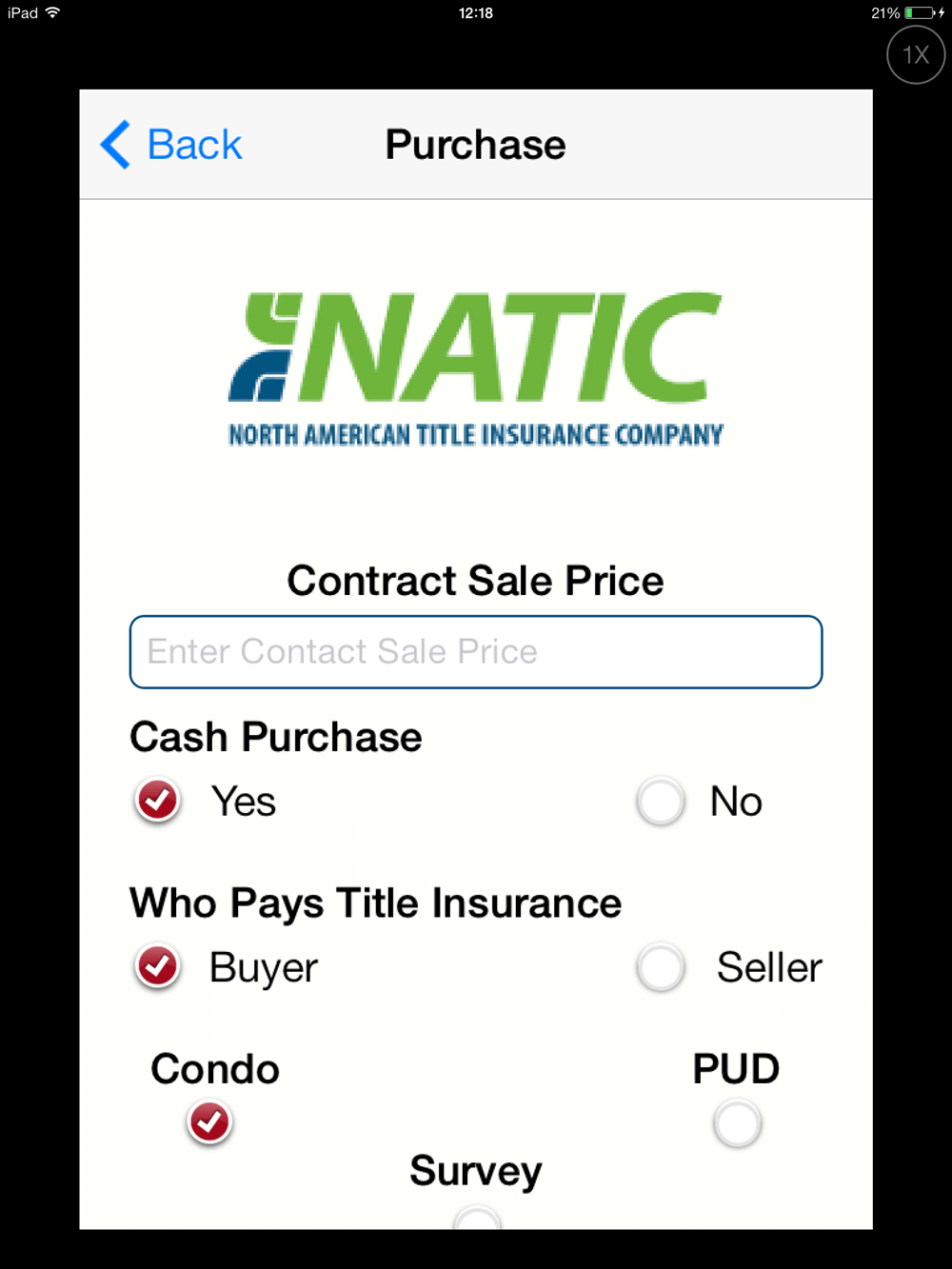 Development of A Cross Platform Insurance Calculator App - NATIC