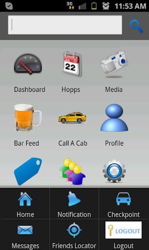 Android Mobile App for Media 'Barhopps' – Social Networking App