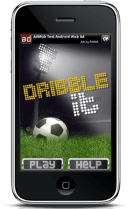 Dribble It - Soccer Based Android Theme Game