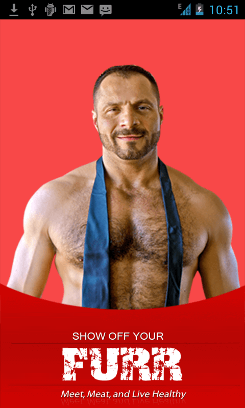 Android Mobile App for Social 'FURR' - Gay Community Online