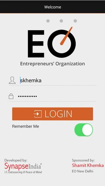 EO Global Android App