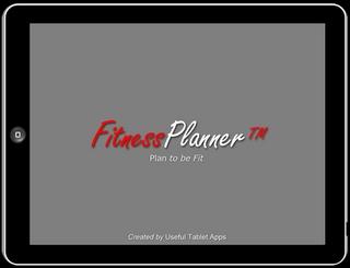 iPad App for Healthcare 'FitnessPlanner' – Online Health & Fitness Program
