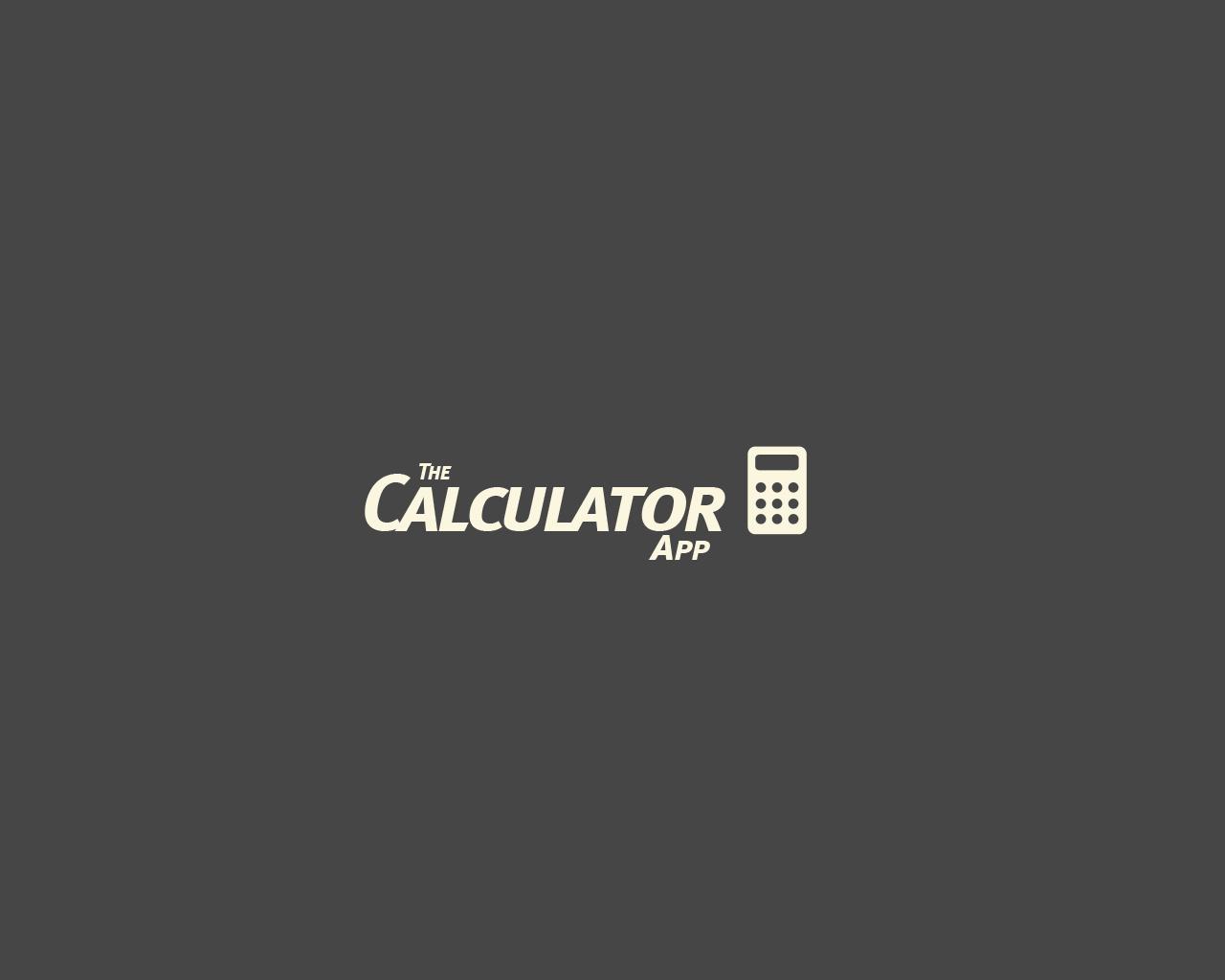 Development of a Calculator App for Windows 8 - Calcu TEC