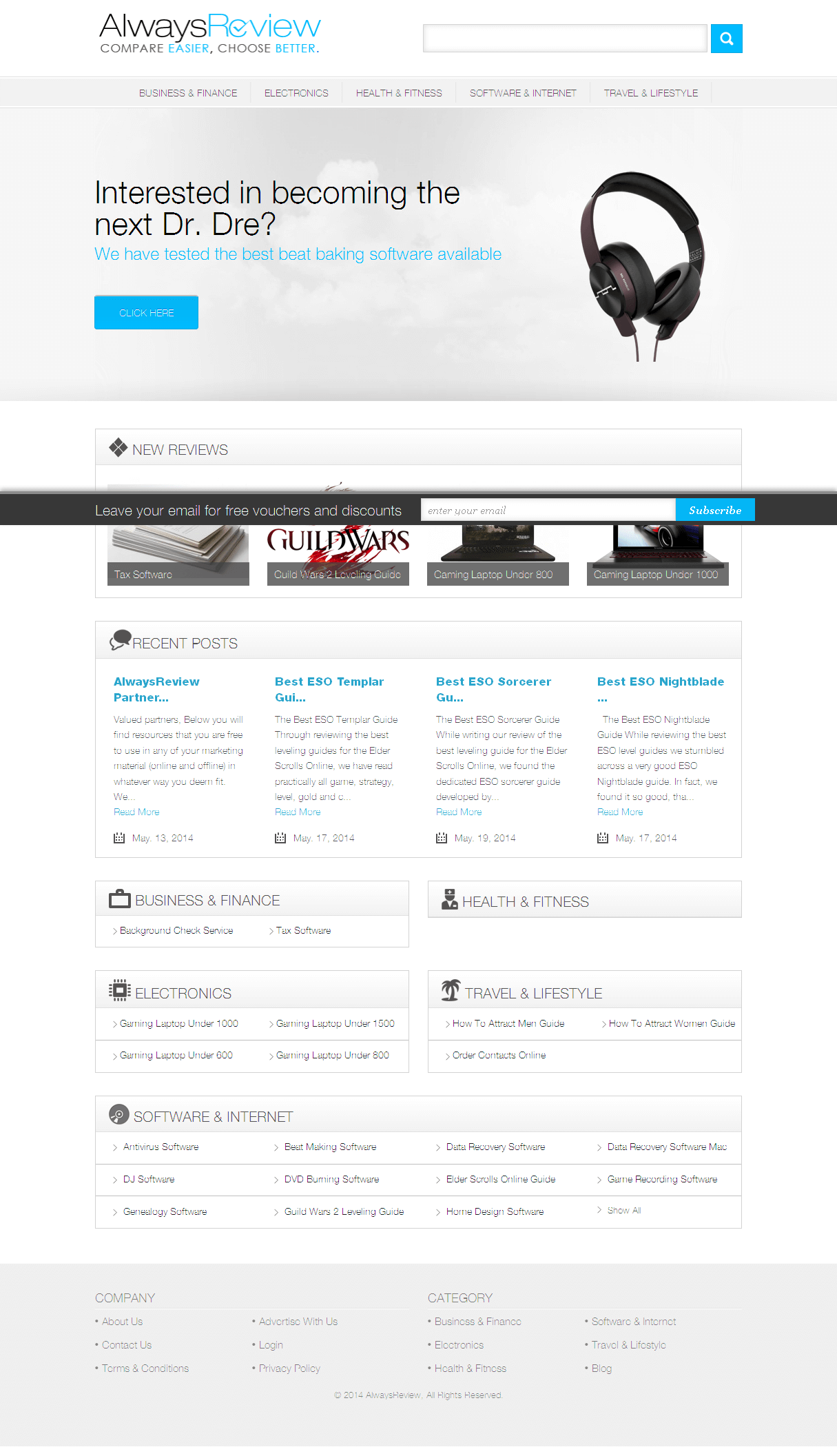 Development of a Product Review Website Using CakePHP Framework