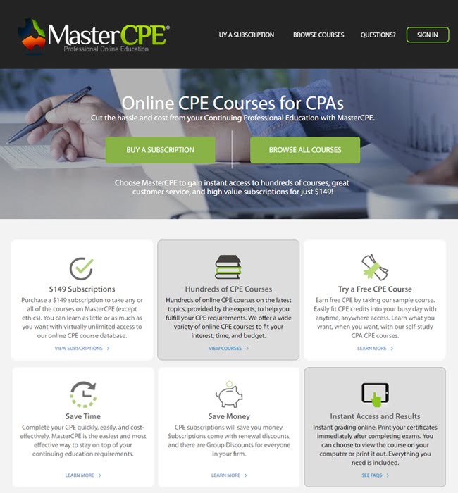 CakePHP Website Enhancement for eLearning Industry in USA - MasterCPE