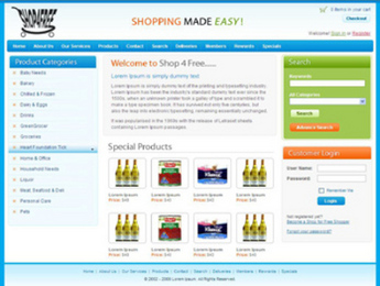 Dot Net Based eCommerce Website for Selling Grocery Items