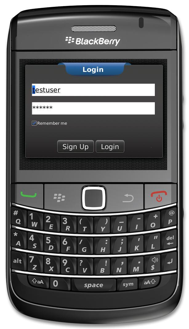 BlackBerry Mobile App for Advertising Platform 'Hondurapps' Using Dot Net
